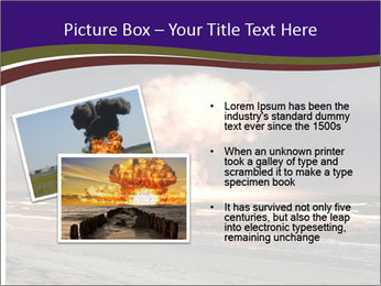 Nuclear explosion PowerPoint Template - Slide 20