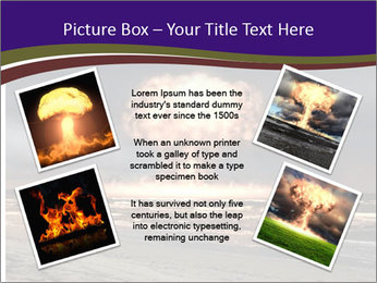Nuclear explosion PowerPoint Template - Slide 24