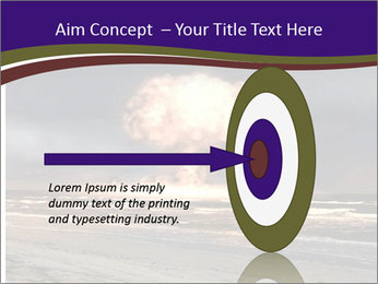 Nuclear explosion PowerPoint Template - Slide 83