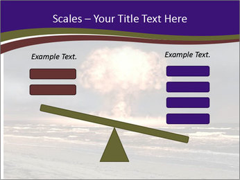 Nuclear explosion PowerPoint Template - Slide 89