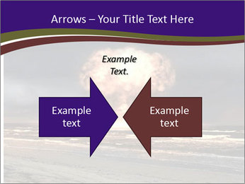 Nuclear explosion PowerPoint Template - Slide 90