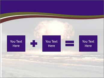 Nuclear explosion PowerPoint Template - Slide 95