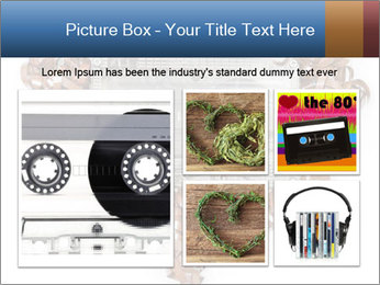 Cassette PowerPoint Template - Slide 19
