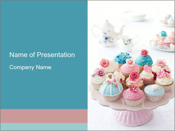 Cupcakes PowerPoint Templates - Slide 1