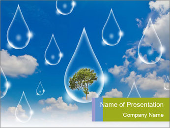 Eco concept PowerPoint Template - Slide 1