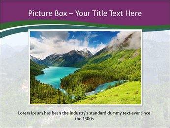 Castle in Bavarian Alps PowerPoint Templates - Slide 16