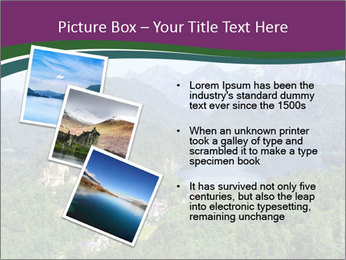 Castle in Bavarian Alps PowerPoint Templates - Slide 17