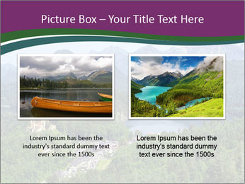 Castle in Bavarian Alps PowerPoint Templates - Slide 18
