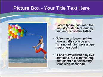 Beautiful and athletic girl PowerPoint Template - Slide 13