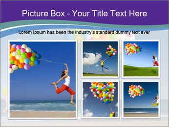 Beautiful and athletic girl PowerPoint Template - Slide 19