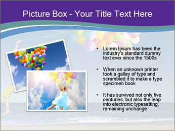 Beautiful and athletic girl PowerPoint Template - Slide 20
