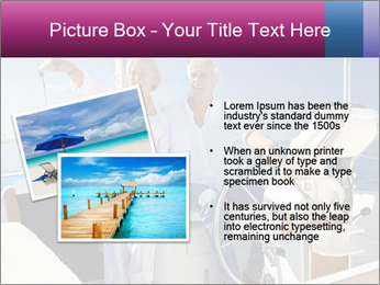 A happy senior couple PowerPoint Template - Slide 20
