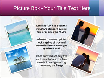 A happy senior couple PowerPoint Template - Slide 24