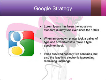 Hand-drawn fashion model PowerPoint Template - Slide 10