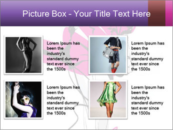 Hand-drawn fashion model PowerPoint Template - Slide 14
