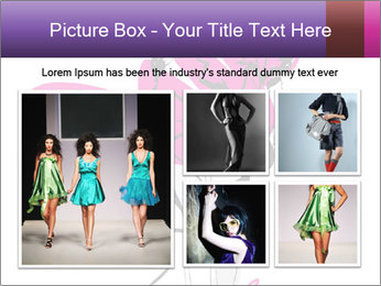 Hand-drawn fashion model PowerPoint Template - Slide 19