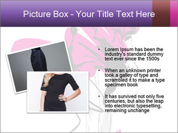 Hand-drawn fashion model PowerPoint Template - Slide 20