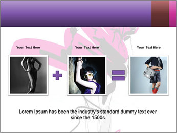 Hand-drawn fashion model PowerPoint Template - Slide 22