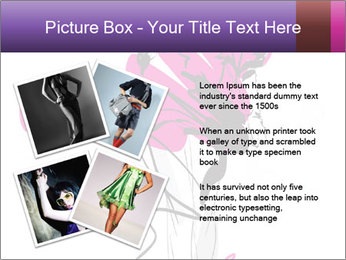 Hand-drawn fashion model PowerPoint Template - Slide 23