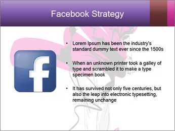 Hand-drawn fashion model PowerPoint Templates - Slide 6