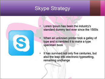 Hand-drawn fashion model PowerPoint Template - Slide 8