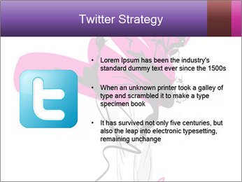 Hand-drawn fashion model PowerPoint Template - Slide 9