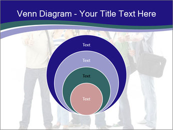 Young smiling students PowerPoint Template - Slide 34
