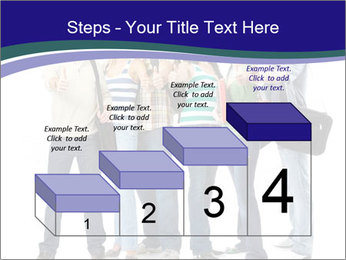 Young smiling students PowerPoint Template - Slide 64