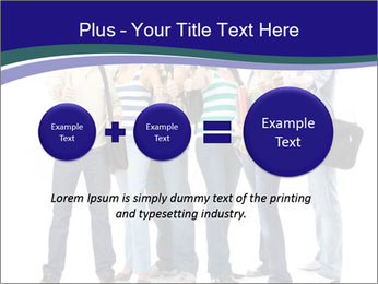 Young smiling students PowerPoint Template - Slide 75