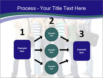 Young smiling students PowerPoint Template - Slide 92