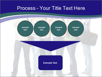 Young smiling students PowerPoint Template - Slide 93