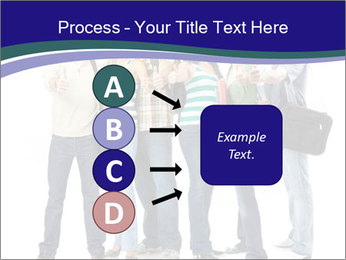 Young smiling students PowerPoint Template - Slide 94