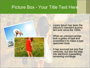 The barefoot girl PowerPoint Templates - Slide 20