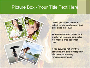 The barefoot girl PowerPoint Templates - Slide 23