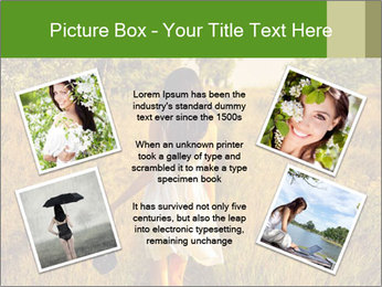 The barefoot girl PowerPoint Templates - Slide 24