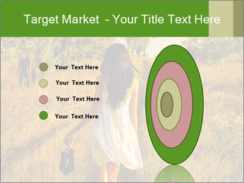 The barefoot girl PowerPoint Templates - Slide 84