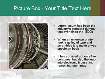 Large jet engine detail PowerPoint Templates - Slide 13