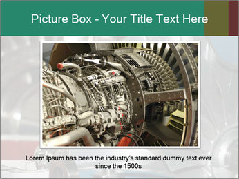 Large jet engine detail PowerPoint Templates - Slide 15
