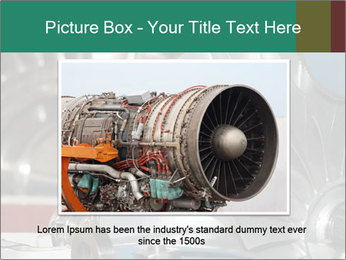 Large jet engine detail PowerPoint Templates - Slide 16
