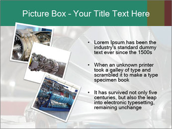 Large jet engine detail PowerPoint Templates - Slide 17
