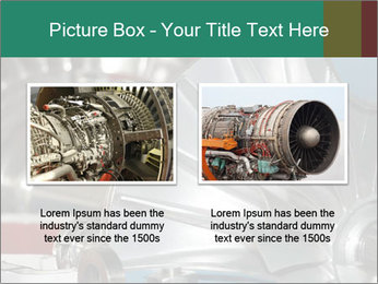Large jet engine detail PowerPoint Templates - Slide 18
