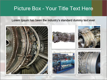 Large jet engine detail PowerPoint Templates - Slide 19