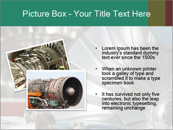 Large jet engine detail PowerPoint Templates - Slide 20