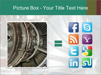 Large jet engine detail PowerPoint Templates - Slide 21