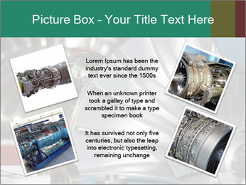 Large jet engine detail PowerPoint Templates - Slide 24