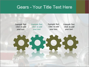 Large jet engine detail PowerPoint Templates - Slide 48