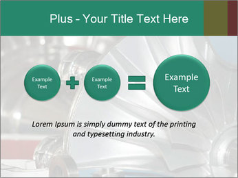 Large jet engine detail PowerPoint Templates - Slide 75