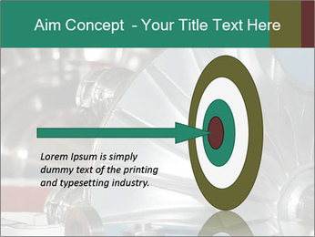 Large jet engine detail PowerPoint Templates - Slide 83
