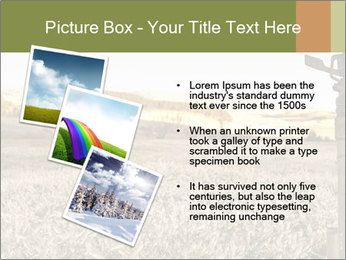 Ice field in the early morning PowerPoint Templates - Slide 17