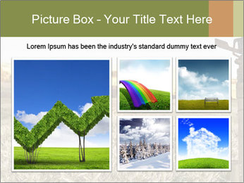 Ice field in the early morning PowerPoint Templates - Slide 19
